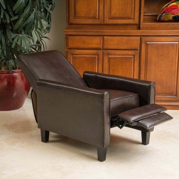 Le meilleur fauteuil de relaxation comment le choisir - Fauteuil marron pas cher ...