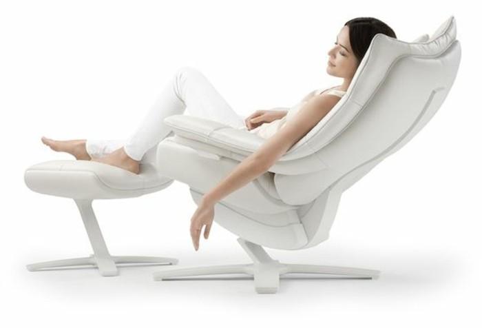 Le meilleur fauteuil de relaxation comment le choisir - Fauteuil relax design blanc ...