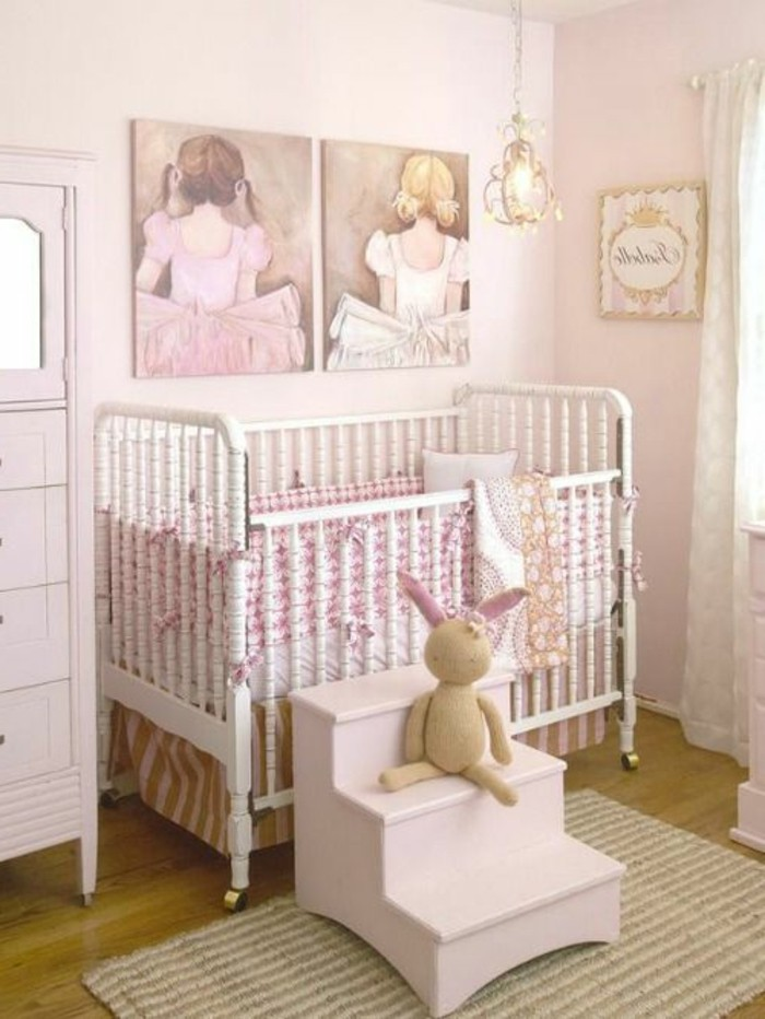 Stickers chambre bebe fille pas cher for Photo chambre bebe fille