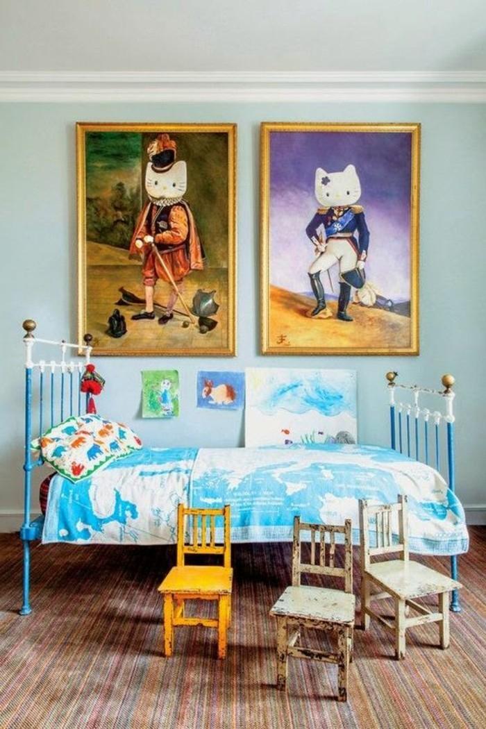 jolie-idee-pour-votre-chambre-enfant-colorée-assortir-les-couleurs