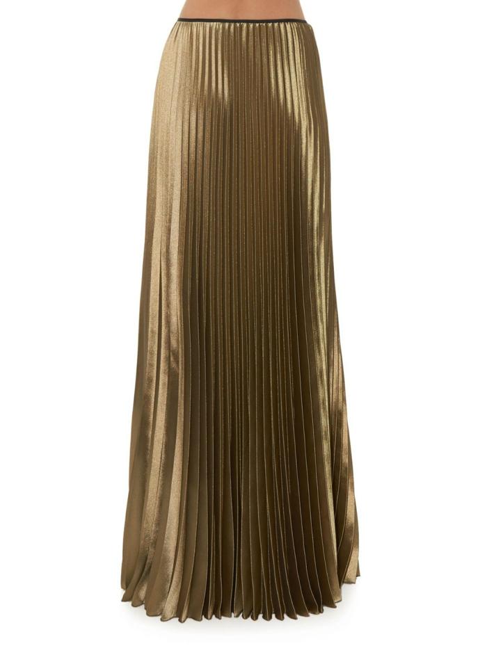 jupe-doré-plissée-vetements-femme-moderne-jupe-plisée-femme-moderne