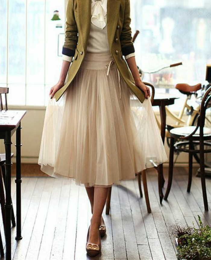 jupe-longue-plissée-beige-style-retro-chic-mode-femme-retro-chic-talons-femme