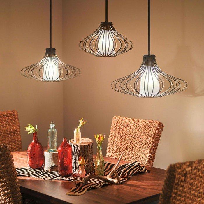 l-aménagement-cuisine-ouverte-table-ronde-avec-rallonge-beau