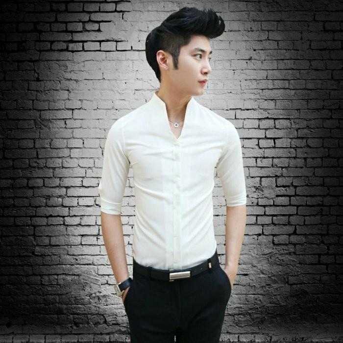 la-chemise-femme-pas-cher-chemise-pas-cher-chemise-cintrée-homme-pantalon-noire