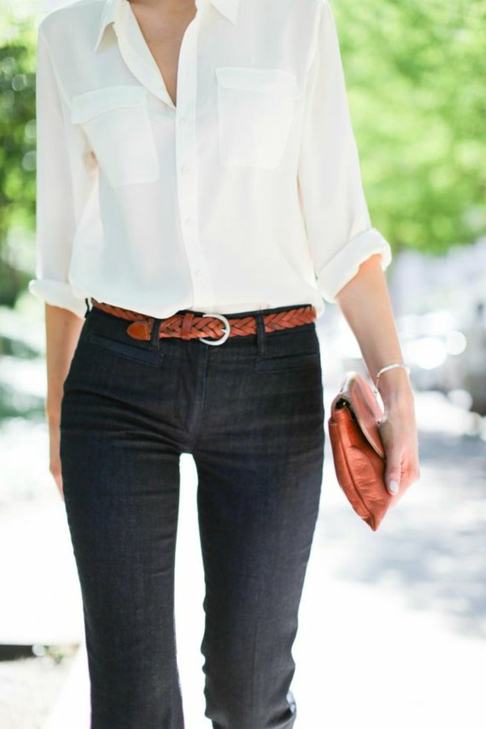 la-meilleure-chemise-blanche-garçon--chemise-blanche-homme-tenue-cool-jean-noir