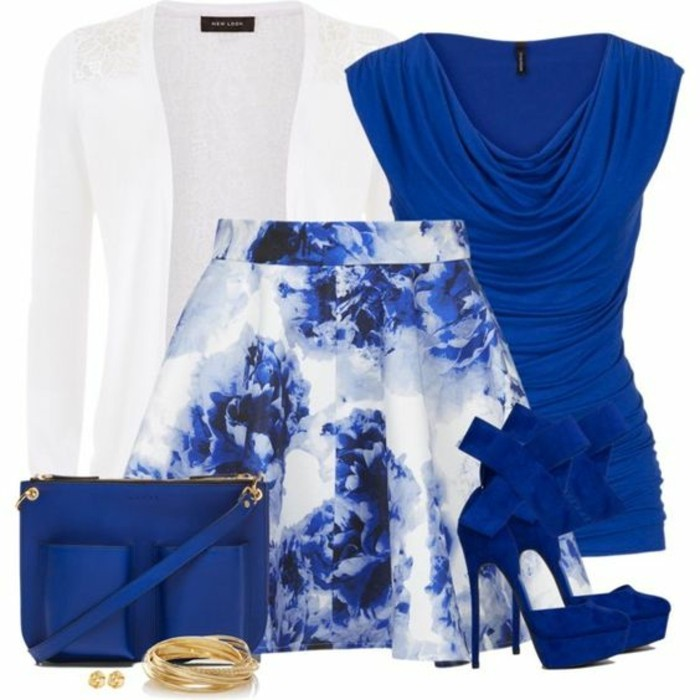 la-mode-jupe-en-jean-femme-jupe-crayon-cuir-dernières-tendances-au-bleu-et-blanc