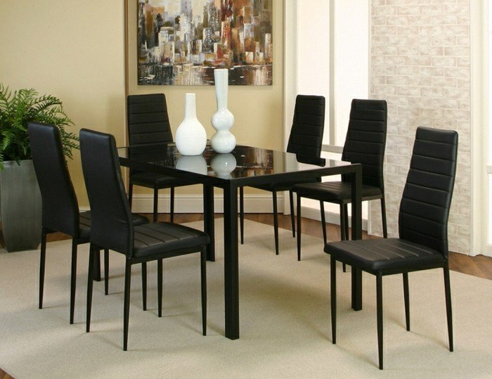 Ensemble table ronde et chaise salle a manger for Salle a manger table ronde