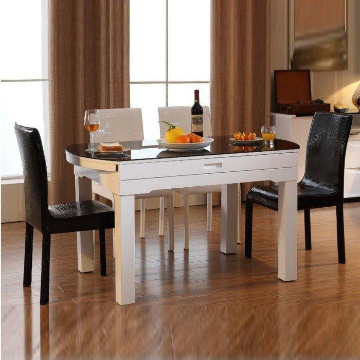 la-table-ronde-en-verre-ikea-table-a-manger-table-à-manger-design-petite-table-blanche
