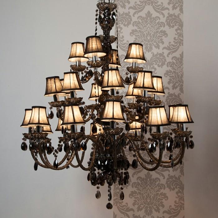 lampadaire-baroque-noir-classique