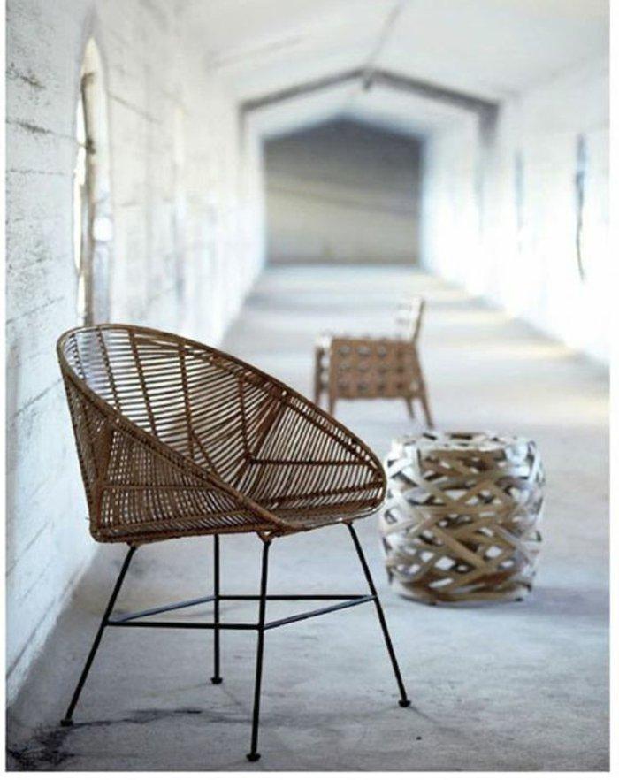 le-fauteuil-rotin-enfant-bien-aménager-le-salon-luxueux-chaise-en-rotin-design-chaise