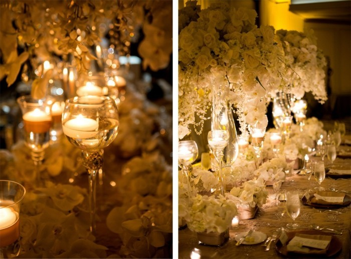 les-menu-mariage-photophore-chaleur-déco-table-champagne-verres-bougies-flottants