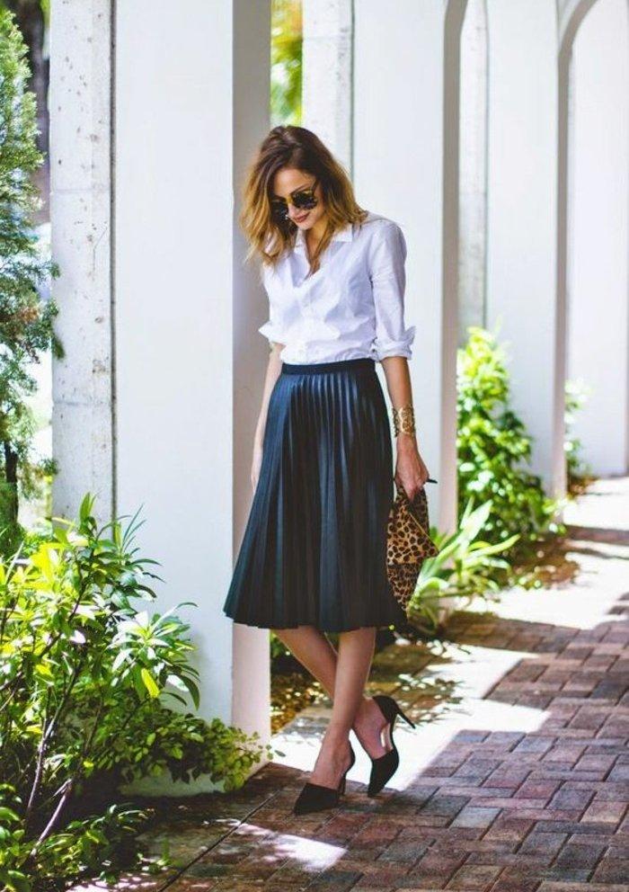 les-plus-cool-chemisiers-femme-chemise-à-carreaux-femme-tenue-de-jour-cool