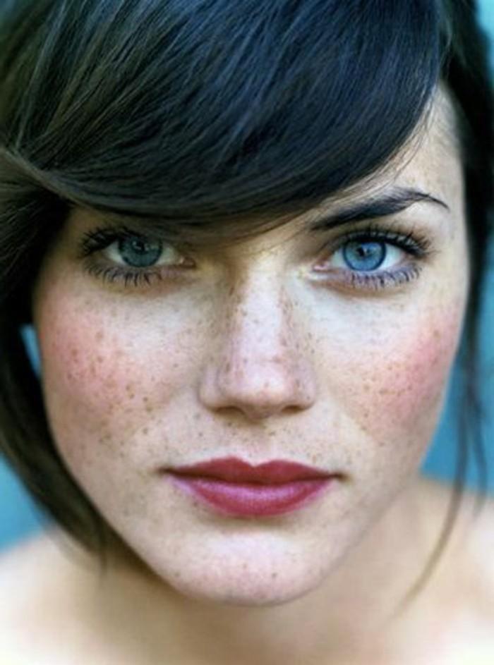 Comme se délivrer de la pigmentation sur la personne est rapide
