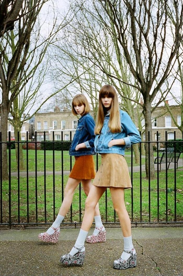les-tendances-de-la-mode-femmes-avec-jupes-courtes-veste-blazer-femme-denim