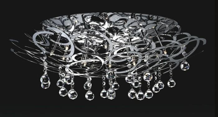 lustre-Swarovski-plafonniere-brillante