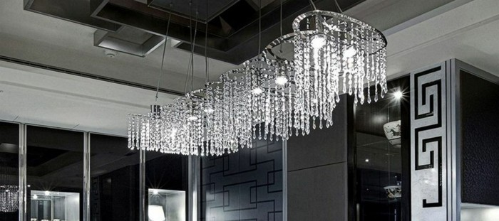 lustre-Swarovski-spirales-metalliques