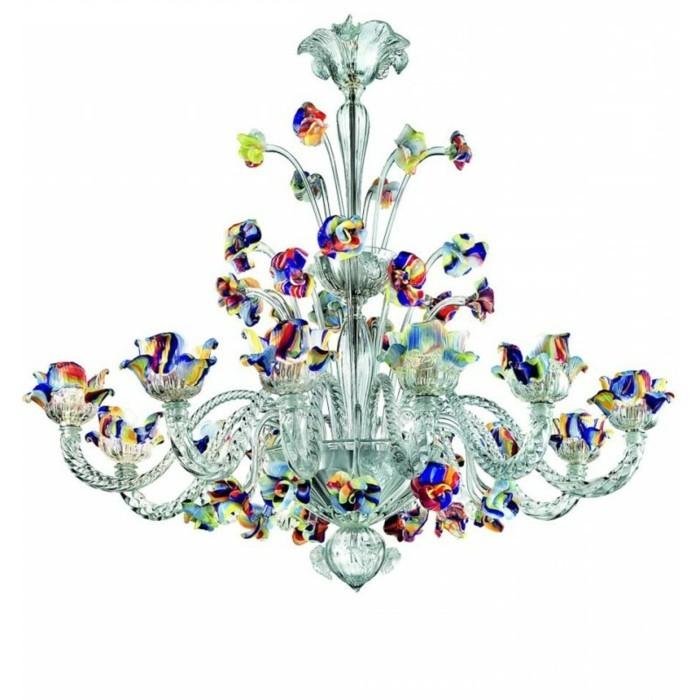 lustre-a-pampilles-couleurs-vives-boule-de-crystal