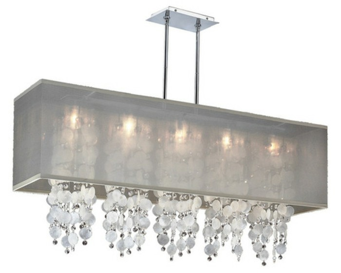 lustre rectangulaire