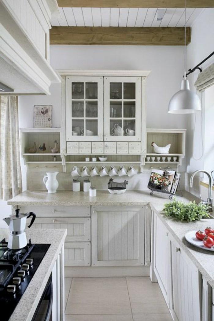 lustre-de-cuisine-sol-en-carelage-beige-meubles-de-cuisine-beiges-carreaux-beiges