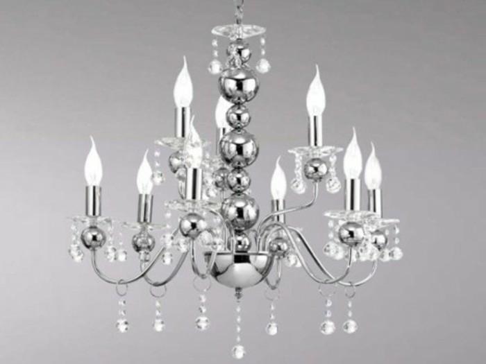 lustre-verre-boules-metalliques