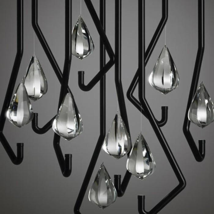 lustre-verre-metal-noir-detail