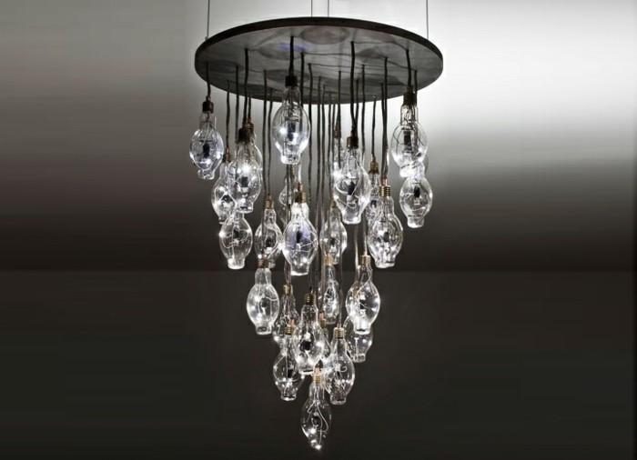 lustre-verre-petits-lampadaires