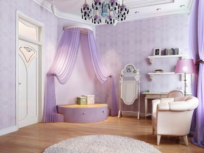 lustres-anciens-chambre-mauve-romantique