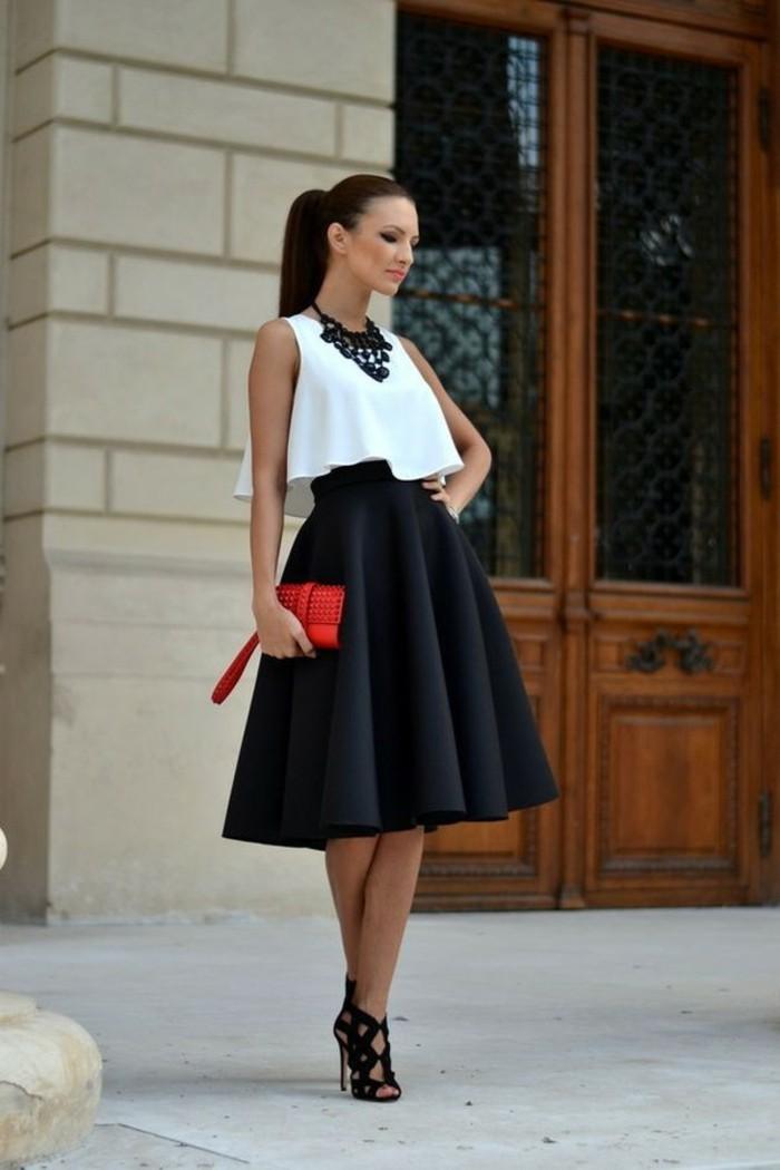 magnifique-idée-tenue-ootd-jupe-blanche-jupe-fourreau-minijupe-style