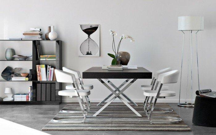magnifique-table-de-salle-à-manger-design-table-ovale-chouette-carree-tapis-gris