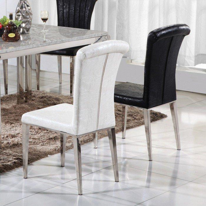 magnifique-table-de-salle-à-manger-design-table-ovale-chouette-en-blanc-et-noir