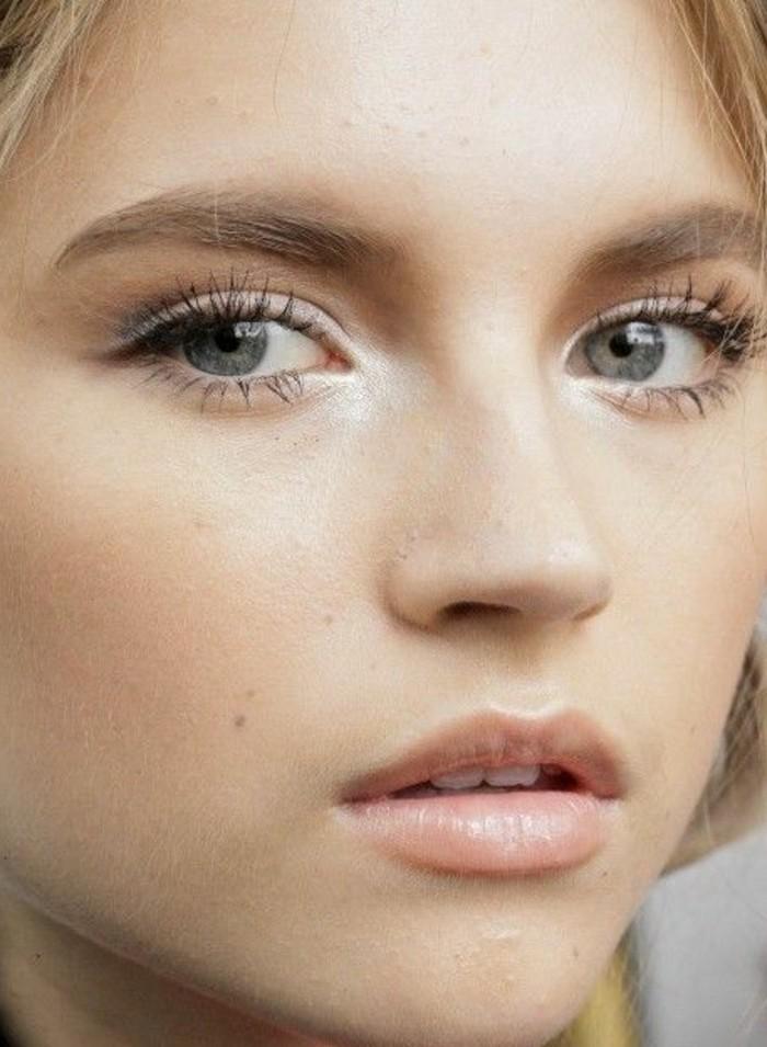 maquillage-naturel-femme-nos-idees-en-photo-apprendre-a-se-maquiller ...