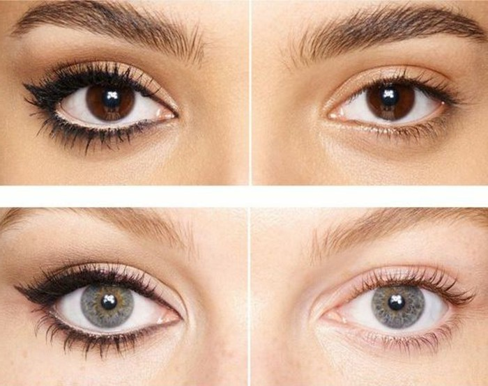 Comment choisir le maquillage pour agrandir les yeux for Miroir pour se maquiller