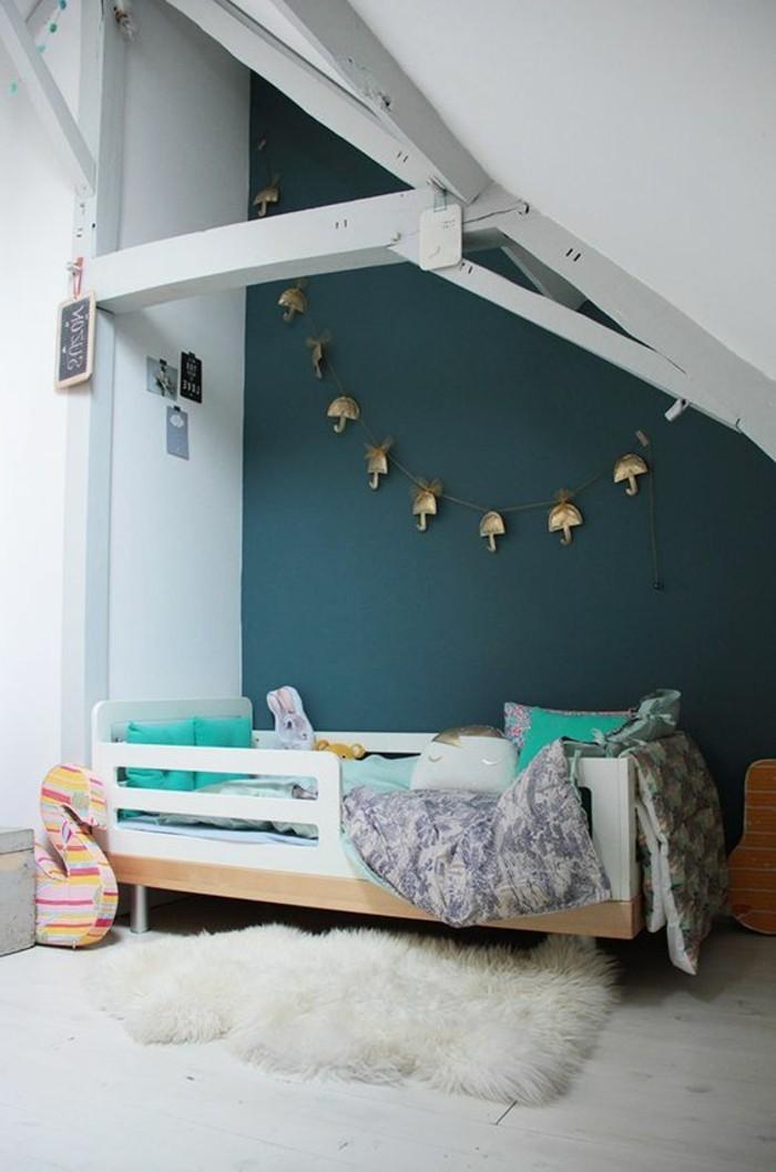 Chambre parquet blanc int rieur blanc et bois id es - Parquet blanc chambre ...