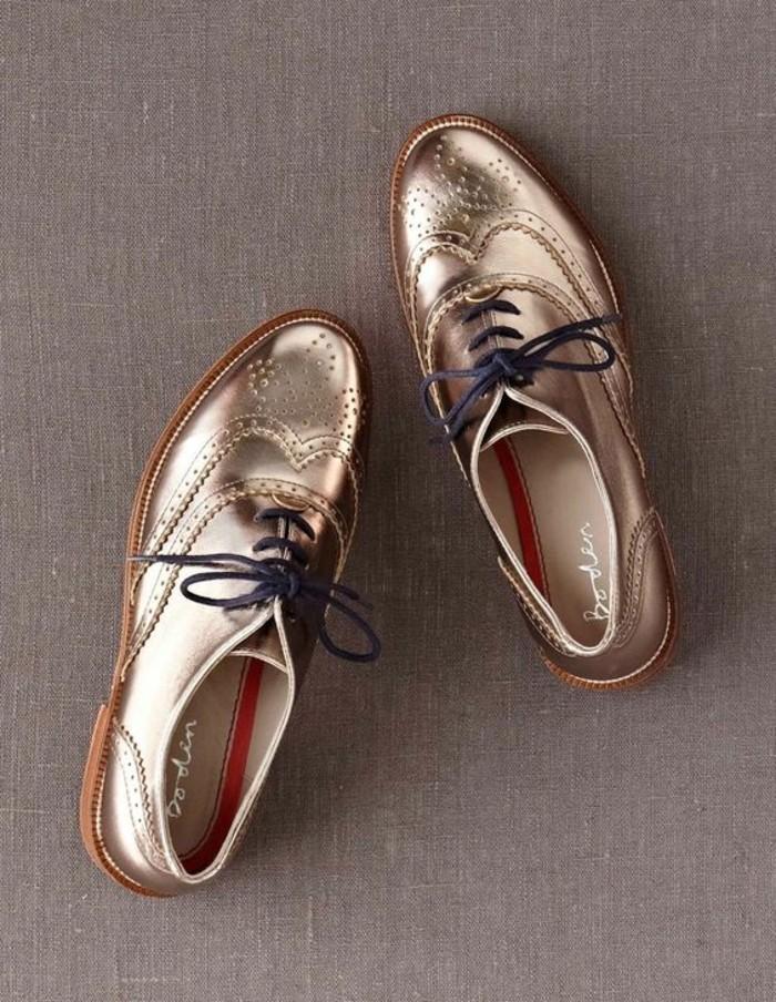 metalic-doré-chaussures-derbies-femme-les-meilleures-chaussures-femme