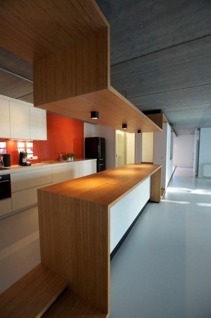 meubles-de-cuisine-en-bois-clair-meubles-de-cuisine-en-bois-luminaire-de-cuisine