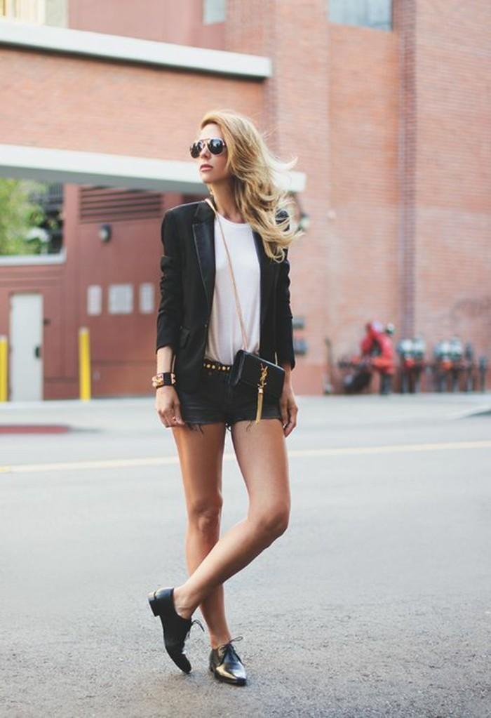 mocassin-femme-noir-cuir-tendances-de-la-mode-2016-femme-chic-veste-noir