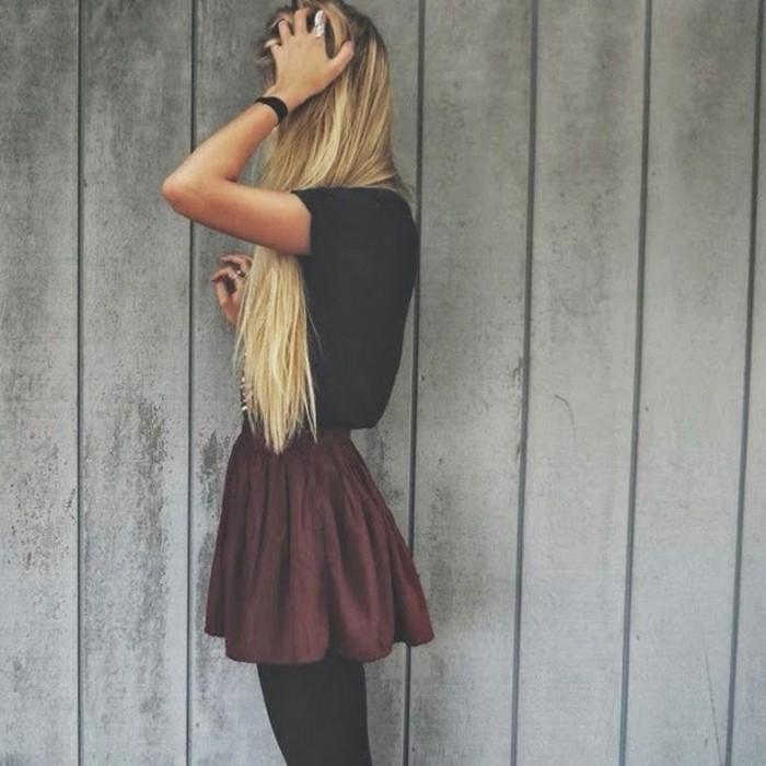moderne-jupe-longue-pas-cher-jupe-patineuse-noire-cool-à-porter-pretter
