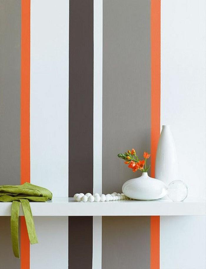 mur-blanc-orange-marron-peinture-glycéro-repeindre-un-mur-peinture-acrylique-murale