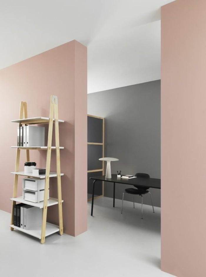 Nos astuces en photos pour peindre une pi ce en deux couleurs for Peindre un salon