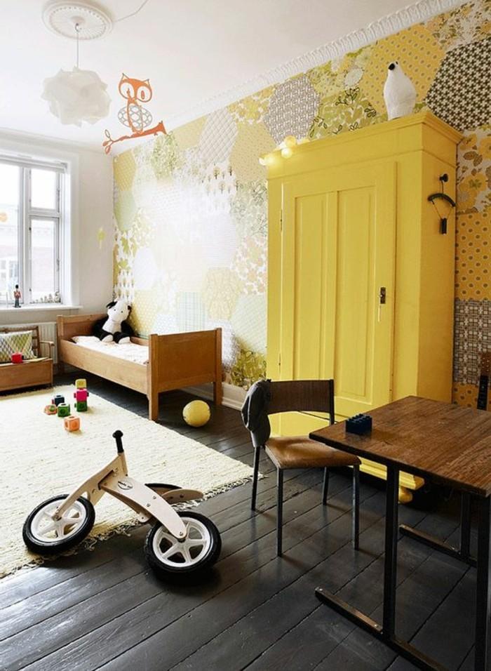 80 astuces pour bien marier les couleurs dans une chambre d enfant for Peinture d une chambre