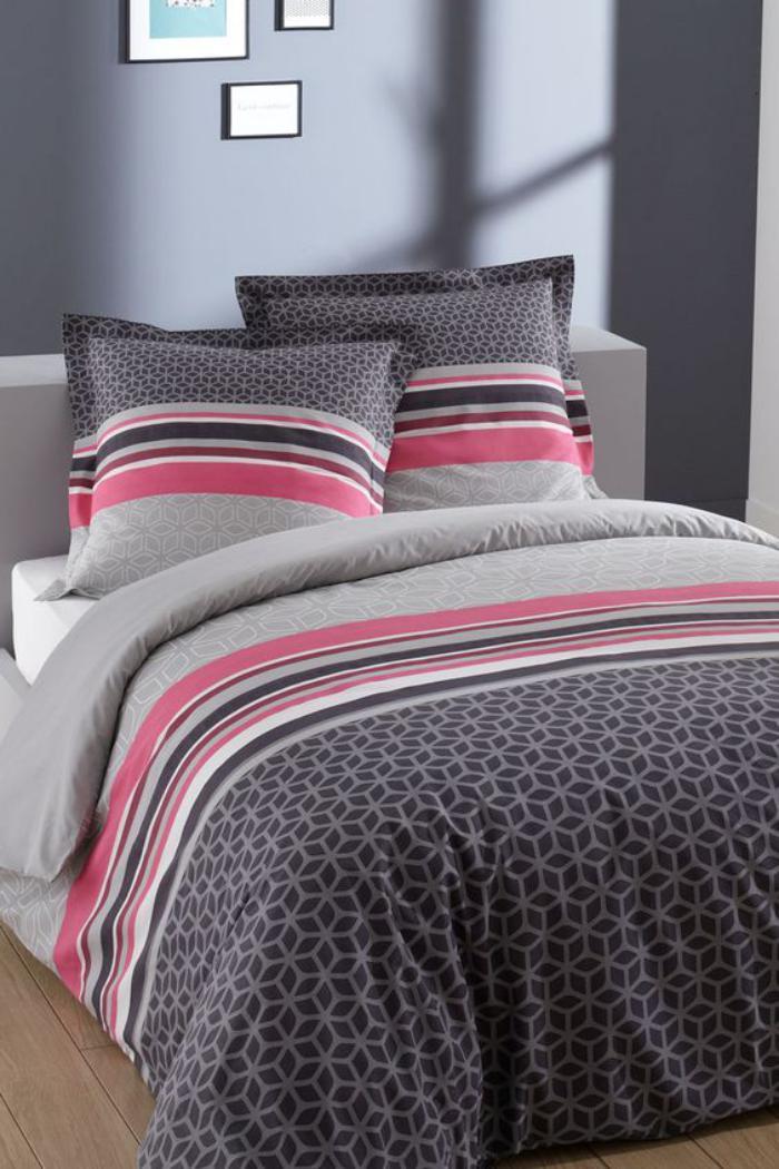 parures-de-lit-parure-lit-rose-et-gris