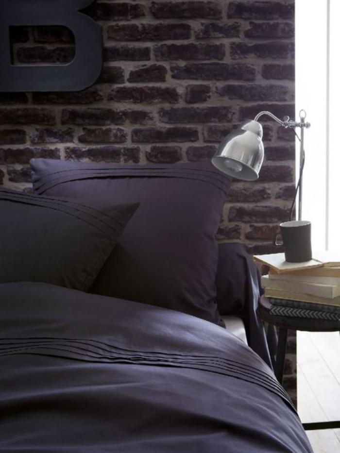 parures-de-lit-couleur-anthracite-déco-industrielle