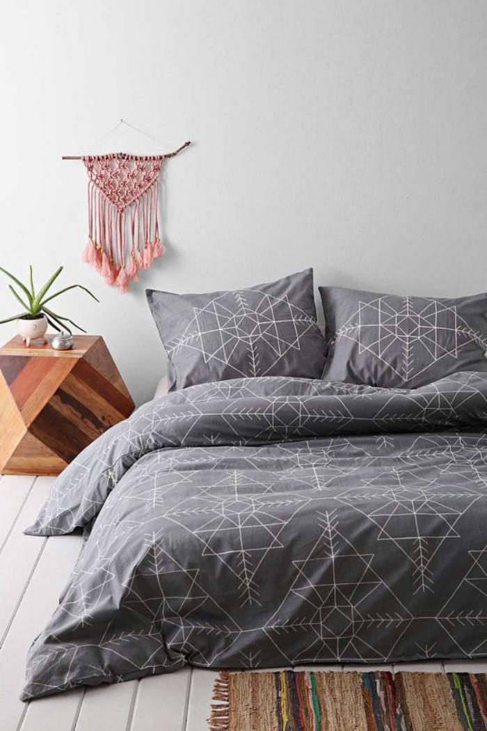 parures-de-lit-décoration-chambre-à-coucher-rustique-chic