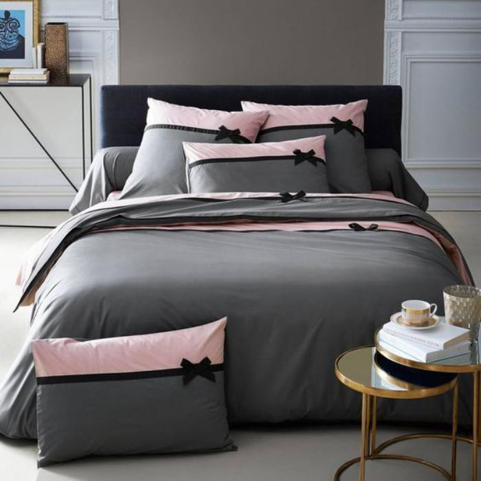 parures de lit originales d coration facile pour la chambre coucher. Black Bedroom Furniture Sets. Home Design Ideas