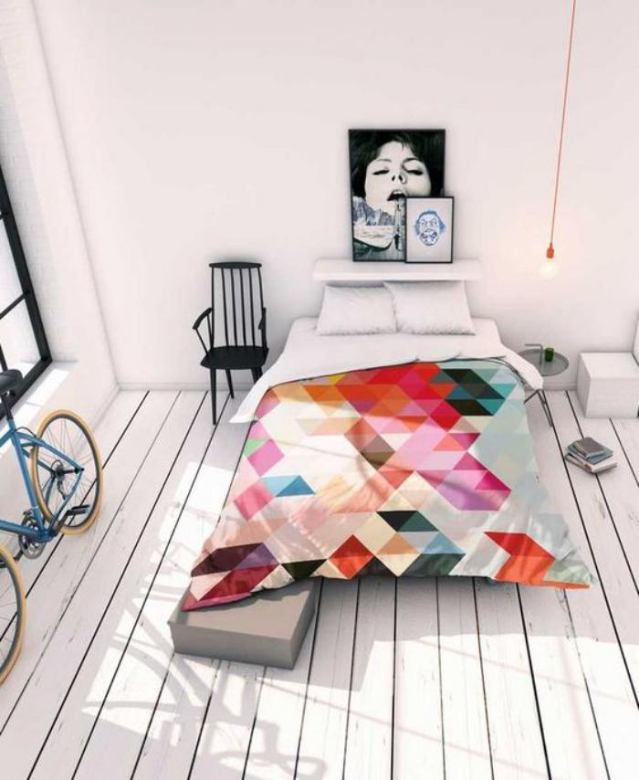 parures-de-lit-parure-de-lit-géométrique-décor-bohémien