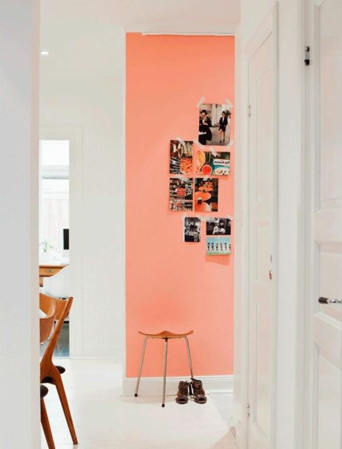 peindre-une-pièce-en-deux-couleurs-sol-blanc-meubles-de-cuisine-mur-rose-mur-blanc