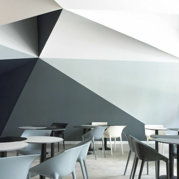 peinture-glycéro-mur-blanc-gris-gris-foncé-chaise-grise-sol-lino-beige