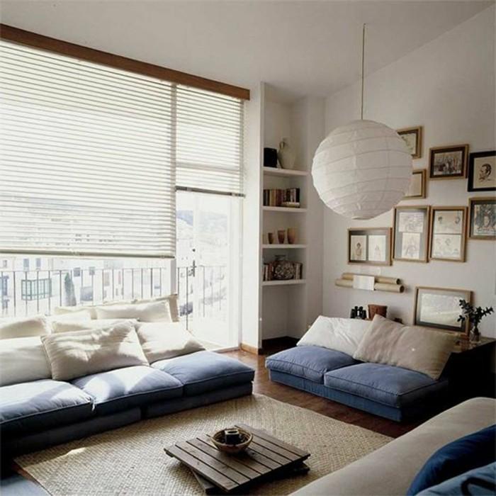 petit-salon-meubles-en-palettes-aménagement-petit-salon-fenetre-grande-tapis-beige