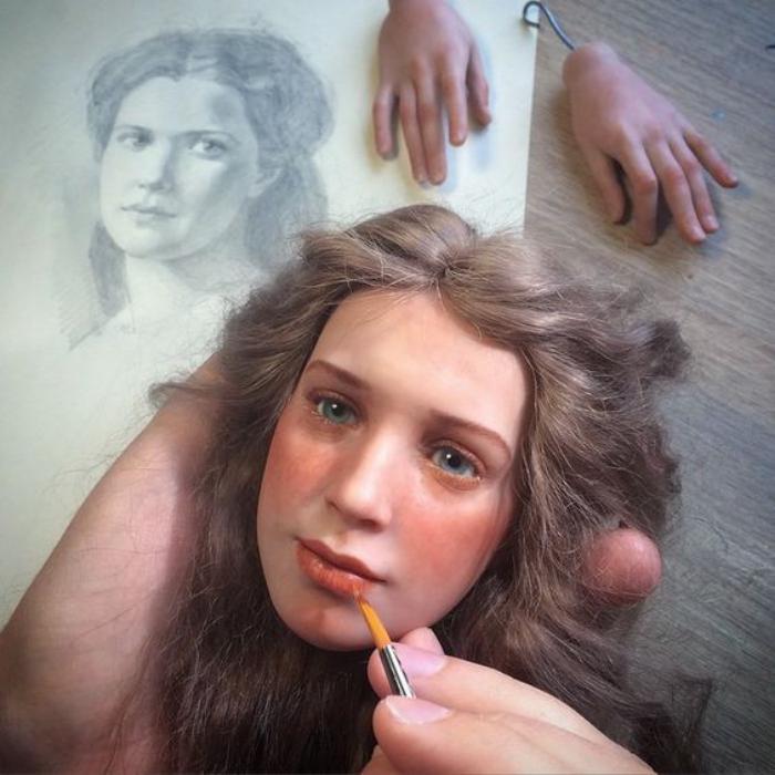poupée-réaliste-créer-le-visage-de-la-poupée