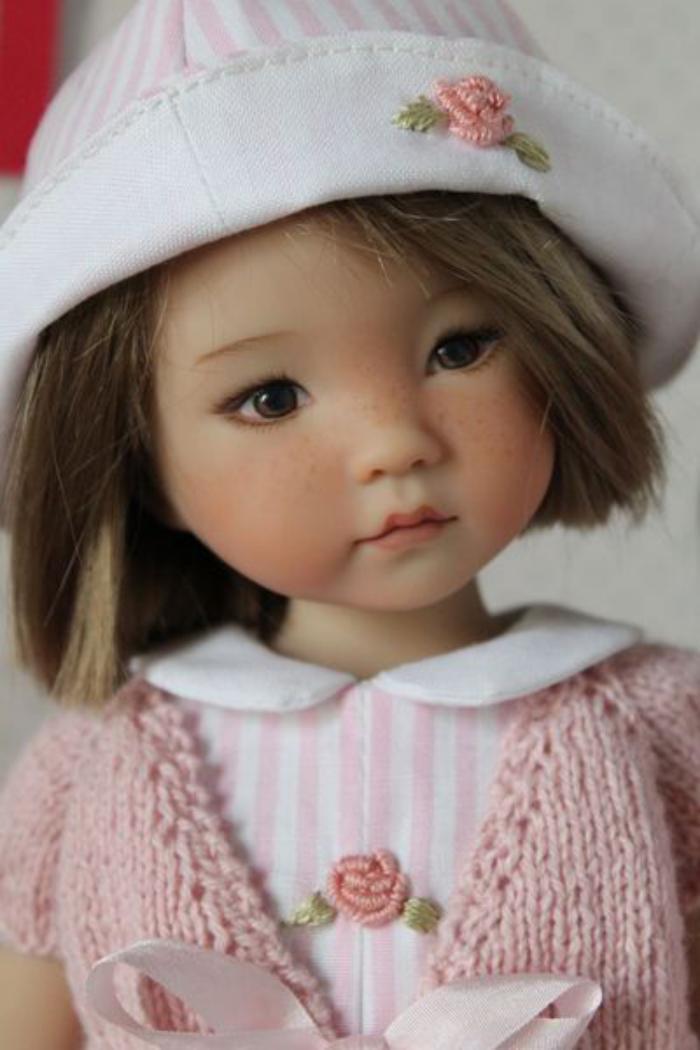 poupée-réaliste-poupée-artistique-super-mignonne